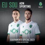 O terceiro equipamento do Sporting para 2020/21