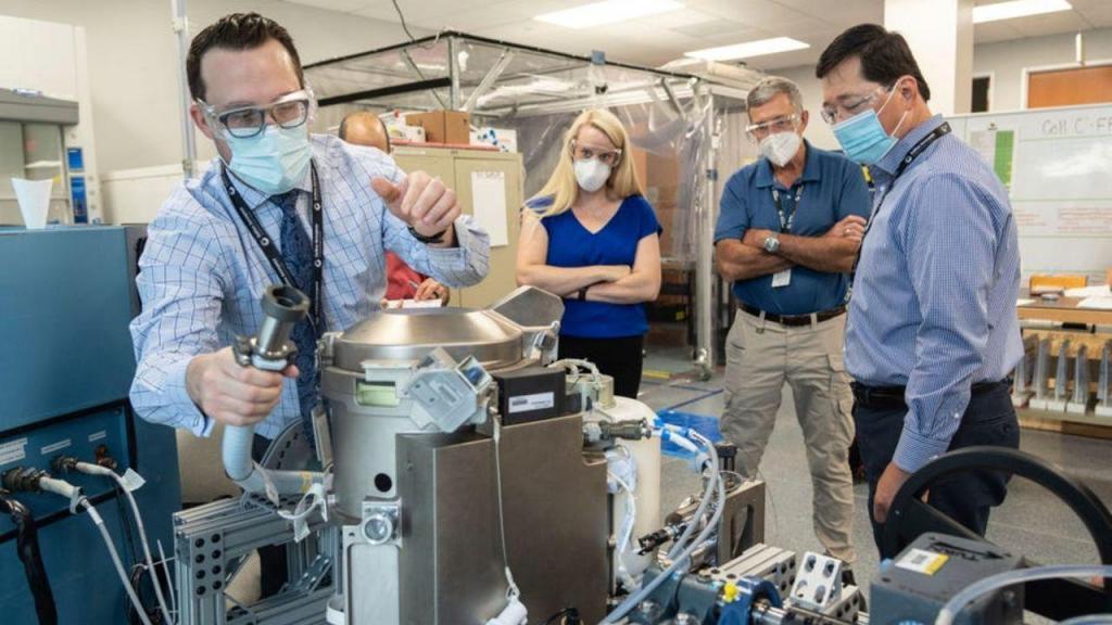 Nova sanita da NASA