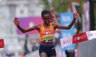 Brigid Kosgei venceu maratona de Londres