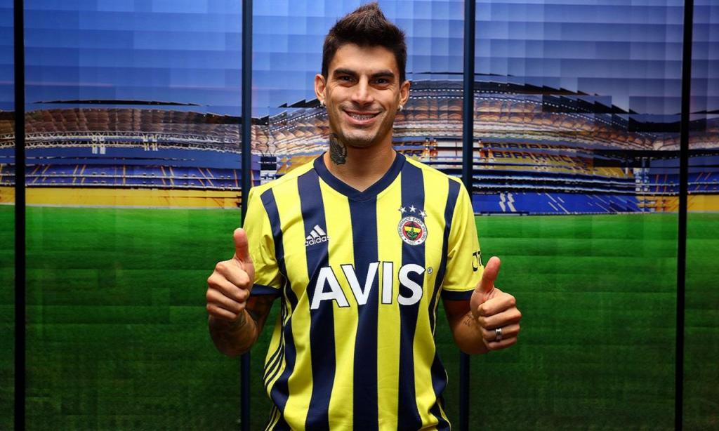 Diego Perotti (foto Fenerbahçe)