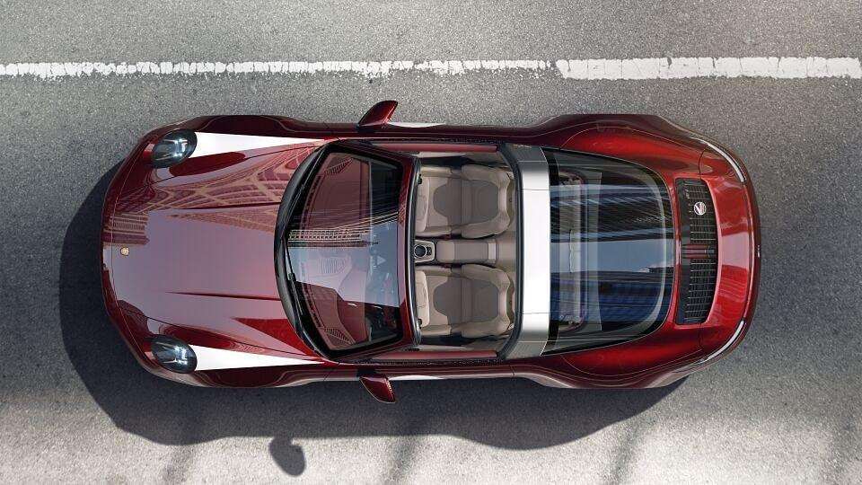 Porsche 911 Targa 4S Heritage Design Edition (reprodução Facebook Zlatan Ibrahimovic)