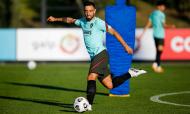 Treino e conferência de antevisão da seleção ao Portugal-Espanha (Diogo Pinto/FPF)