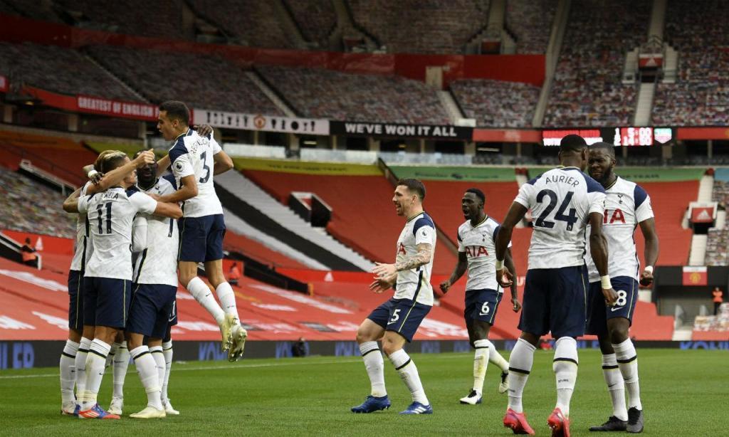 Clubes que mais investiram no mercado: 7.º Tottenham, 98,4 milhões de euros