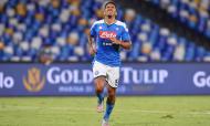 Clubes que maior receita no mercado: 2.º Nápoles, 114,69 milhões de euros