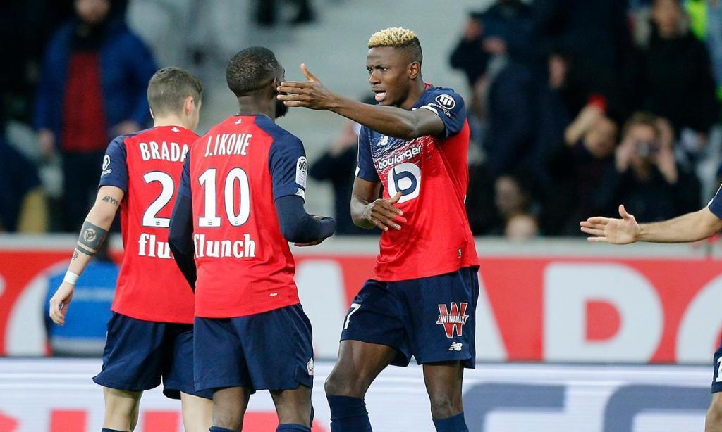 Clubes que maior receita no mercado: 4.º Lille, 99 milhões de euros