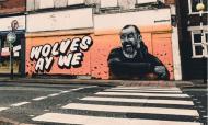 Nuno Espírito Santo com direito a um mural em Wolverhampton