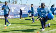 Nanu, Toni Martínez e Sarr já treinaram no Olival