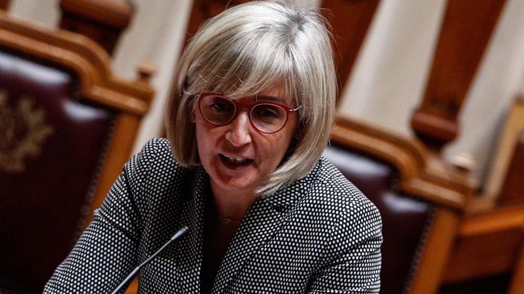 Marta Temido no debate mensal