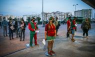 Adeptos no Portugal-Espanha (Mário Cruz/LUSA)