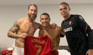 Sergio Ramos, Ronaldo e Pepe