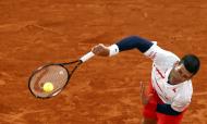 Novak Djokovic em Roland Garros (Ian Langsdon/EPA)