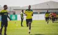 João Mário já treina novamente em Alcochete (foto: Sporting CP)