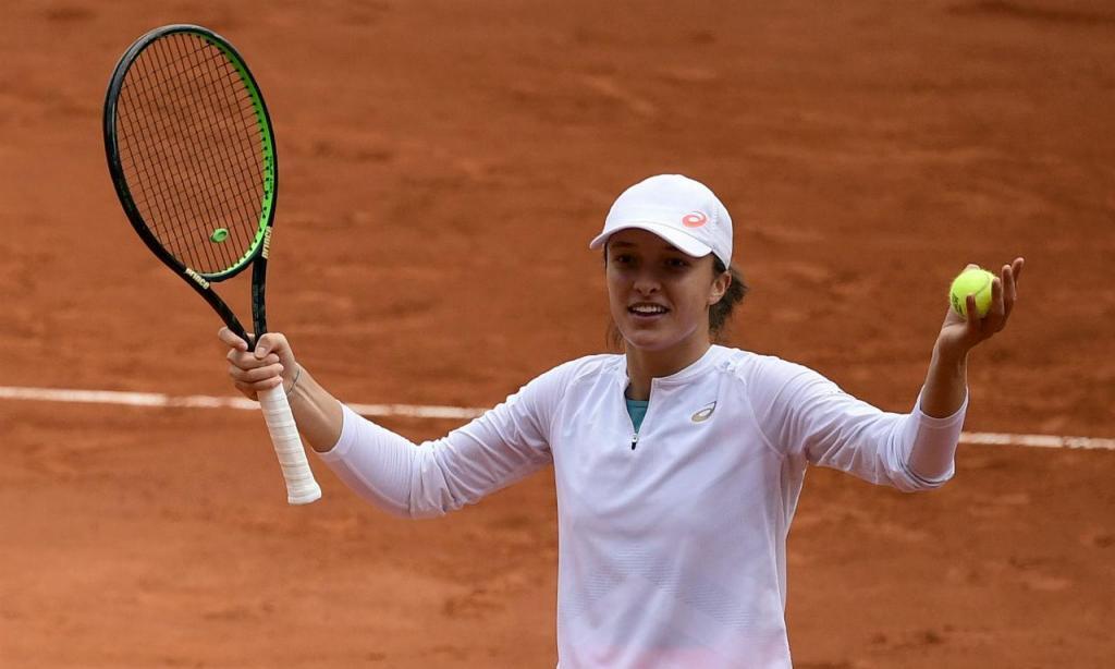 Iga Swiatek está pela primeira vez na final de Roland Garros