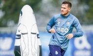 O primeiro treino do FC Porto com Felipe Anderson às ordens de Conceição (FC Porto)