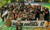 Sporting vence Taça de Portugal de Basquetebol 2019/2020 (Manuel de Almeida/LUSA)