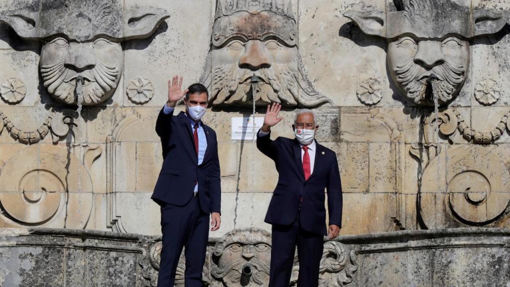 Costa e Sánchez na Cimeira Ibérica na Guarda
