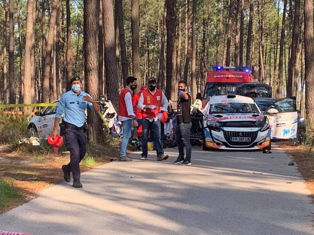 Acidente no Rali Vidreiro 2020 mata co-piloto espanhola de 21 anos