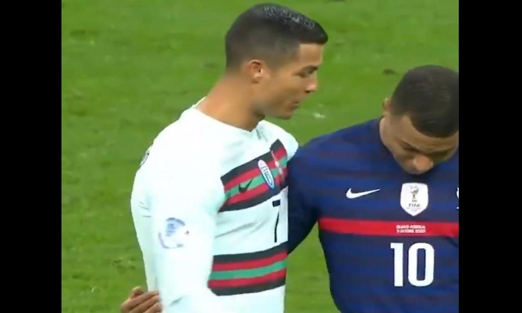 Mbappé e Ronaldo (Twitter)