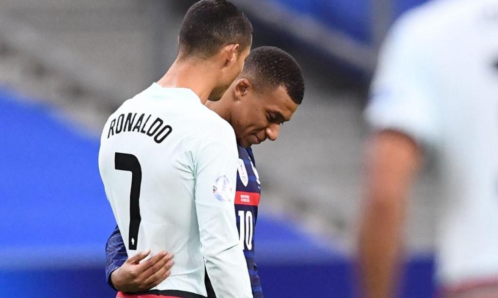 Mbappé e Ronaldo (Mbappé)