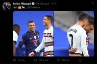 Internacionais franceses fascinados com Cristiano Ronaldo