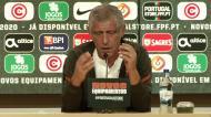 Fernando Santos: «Equipa já jogou sem Cristiano e respondeu bem»