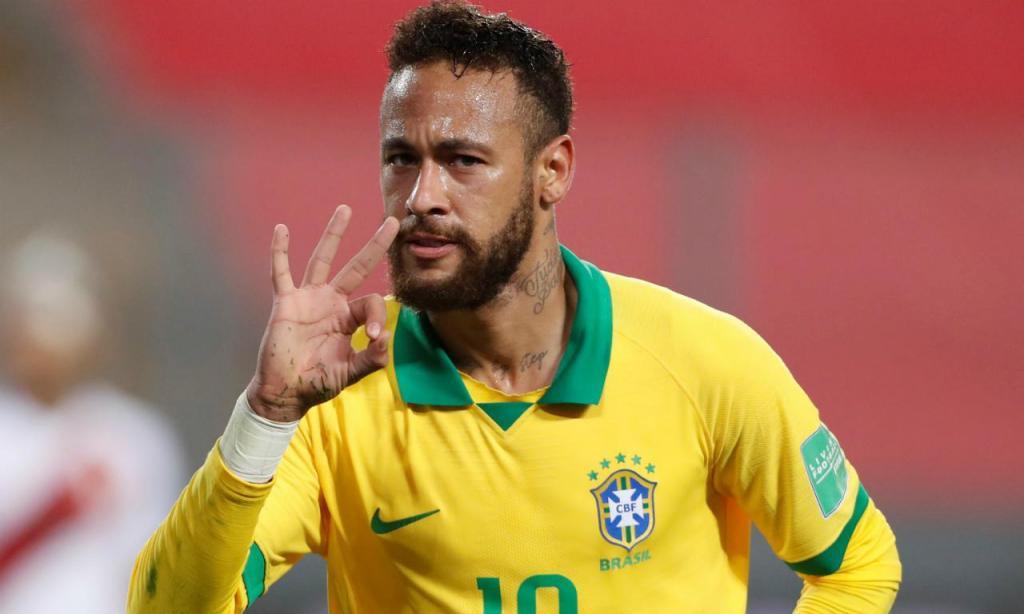 Neymar (EPA/Paolo Aguilar)