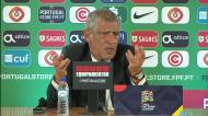 Fernando Santos: «Hoje podia ter jogado com o Ronaldo e o Jota»