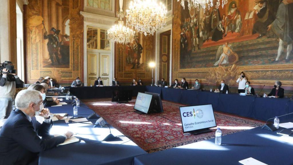 Reunião plenária da Concertação Social
