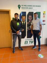 Mário Jardel de visita a Portugal (instagram @mariojardelofficial e twitter @Nelson1Pereira)