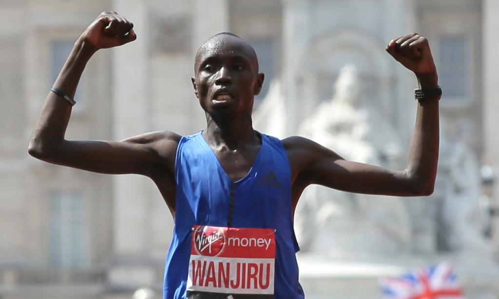 Daniel Wanjiru (Tim Ireland/AP)