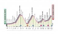 Giro, 17.ª etapa (4.ª feira, 21 outubro): Bassano del Grappa - Madonna di Campiglio (203km)