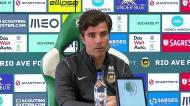 Mário Silva identifica a vantagem que o Rio Ave tem contra o Benfica