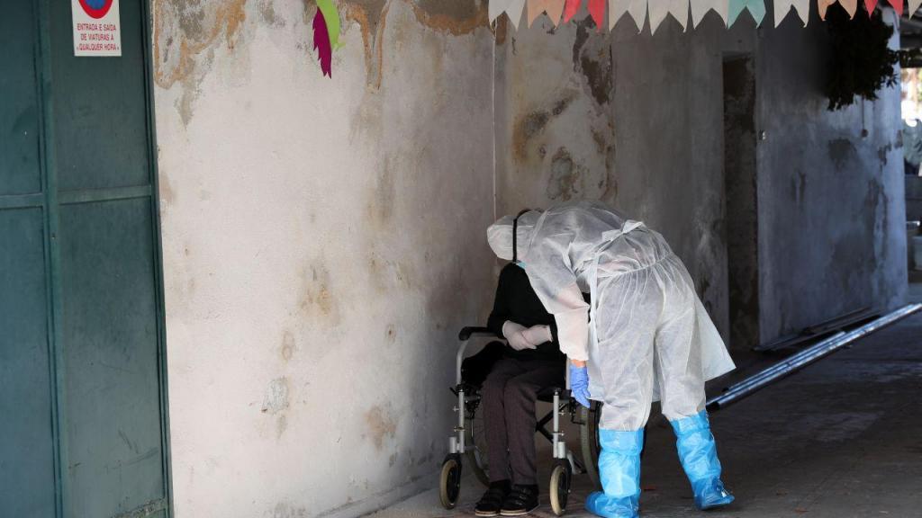 Utentes infetados com covid-19 no lar de Beja