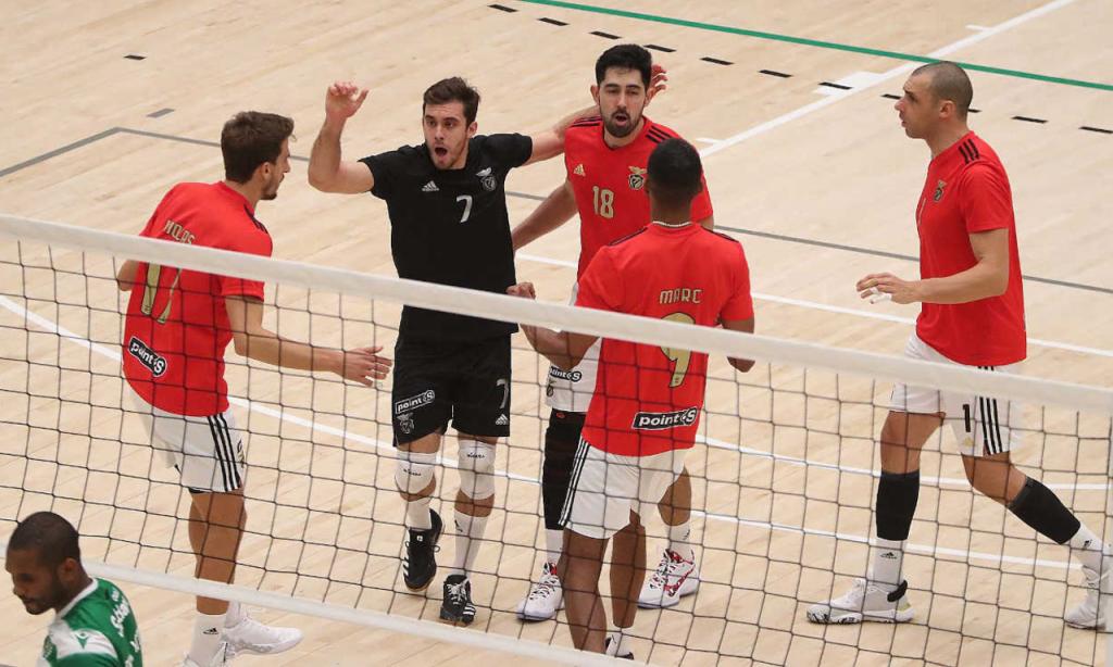 Voleibol: Sporting-Benfica (SL Benfica)