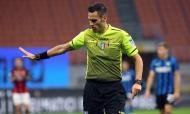 Inter Milão-Milan (Matteo Mazzi/ANSA): árbitro Maurizio Mariani
