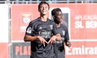 Liga Revelação: Benfica-Cova da Piedade, festejo de Henrique Araújo (SL Benfica)