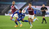 Leicester-Aston Villa (Michael Regan/EPA)