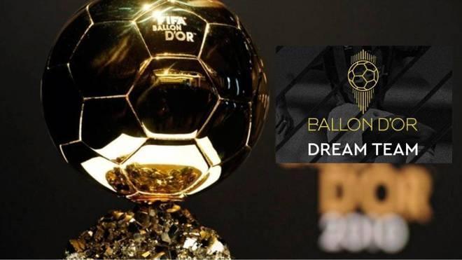 Nomrados para a Dream team da Bola de Ouro