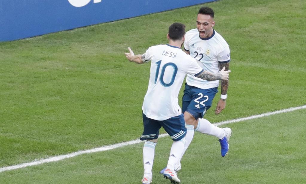 Messi e Lautaro