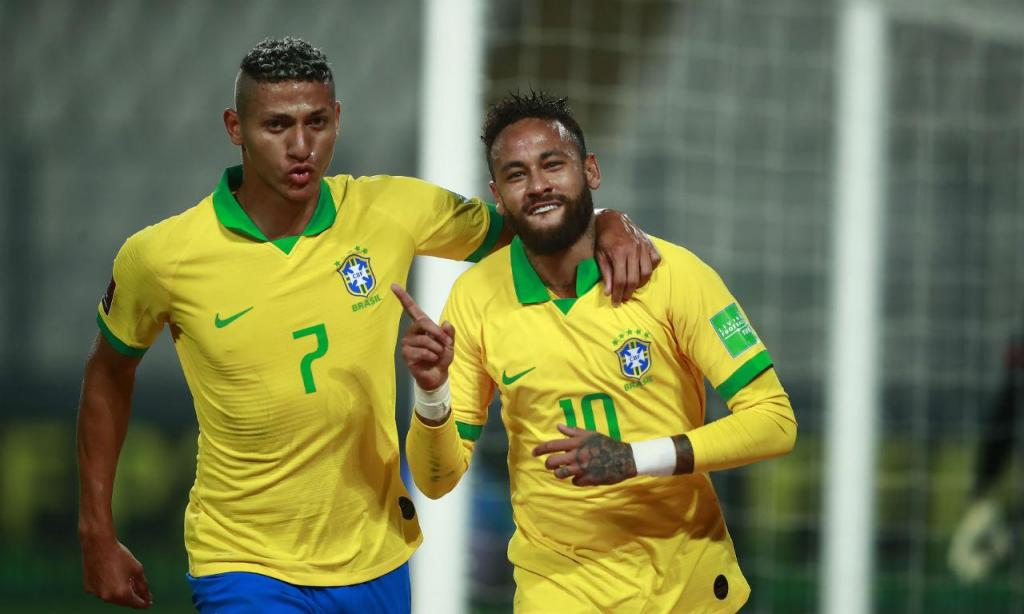 Neymar e Richarlison