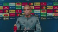Pepe: «Vamos dar tudo para nos podermos classificar»