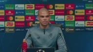 Pepe: «Fico feliz por o Rúben Dias estar a evoluir na carreira»
