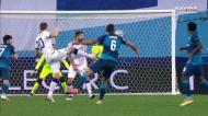 Wendel passa e Lovren marca para o Zenit com a ajuda das costas de Horvath