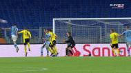 Haaland marcou, mas não chegou: os golos do Lazio-Dortmund