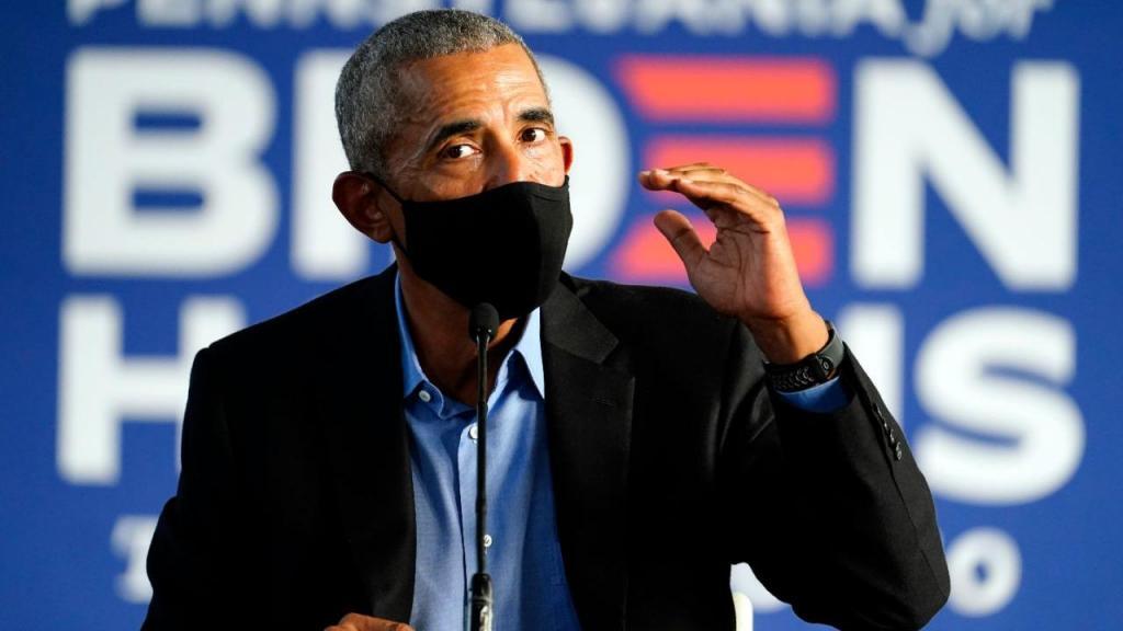 Obama discursa em Filadélfia, na Pensilvânia