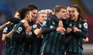 Aston Villa-Leeds (Laurence Griffiths/EPA)