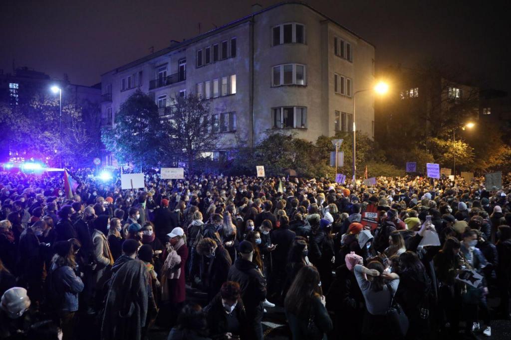 Protesto na Polónia