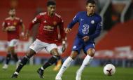 United-Chelsea disputado à chuva