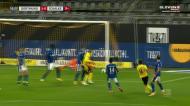 Akanki desbloqueou o marcador no DortmundSchalke