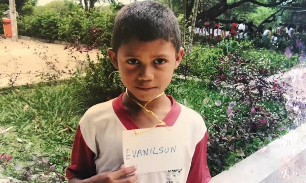 Evanilson (Arquivo da família)